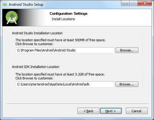 android sdk manager download for android studio