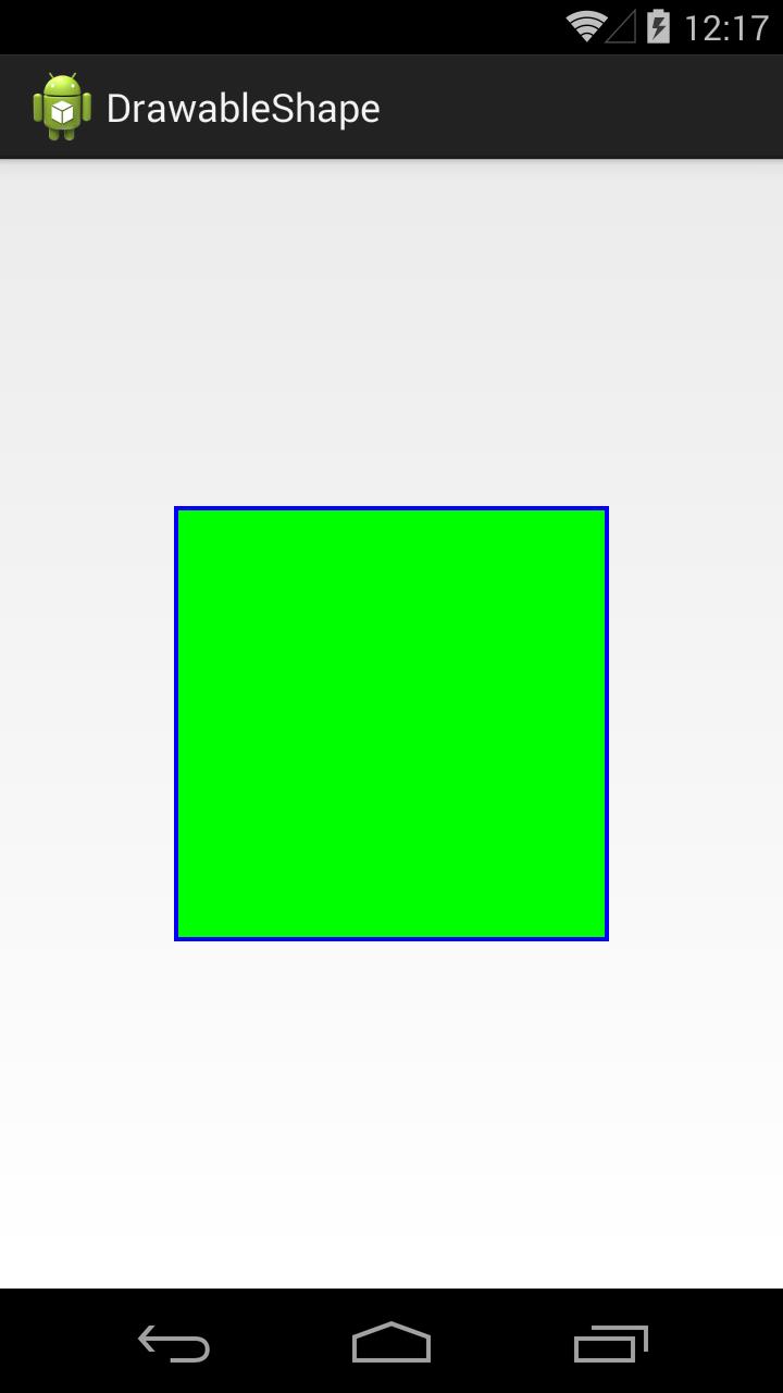 Урок 162  Графика  Drawable  Shape, Gradient
